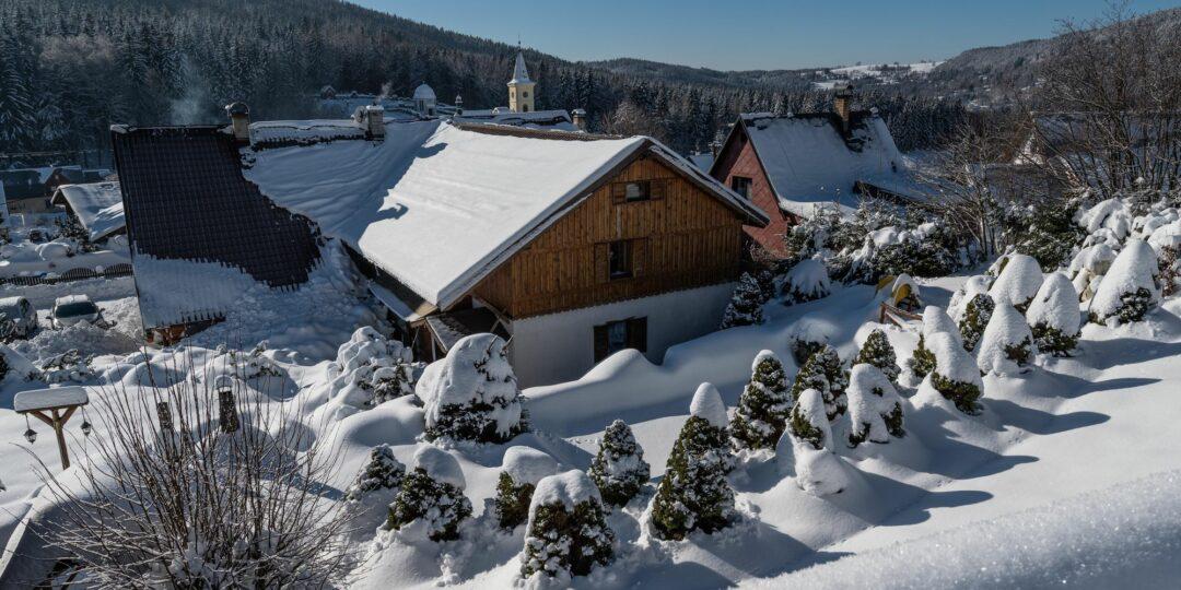 Penzion v zimě 2